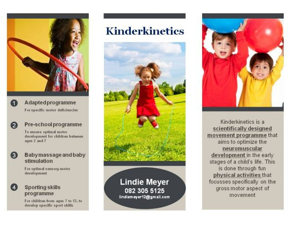 Kinderkinetics pamphlet
